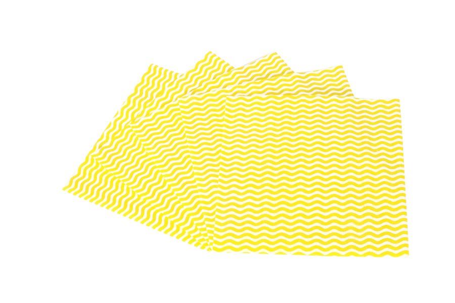 Kuchynská utierka KARA žltá 5 ks