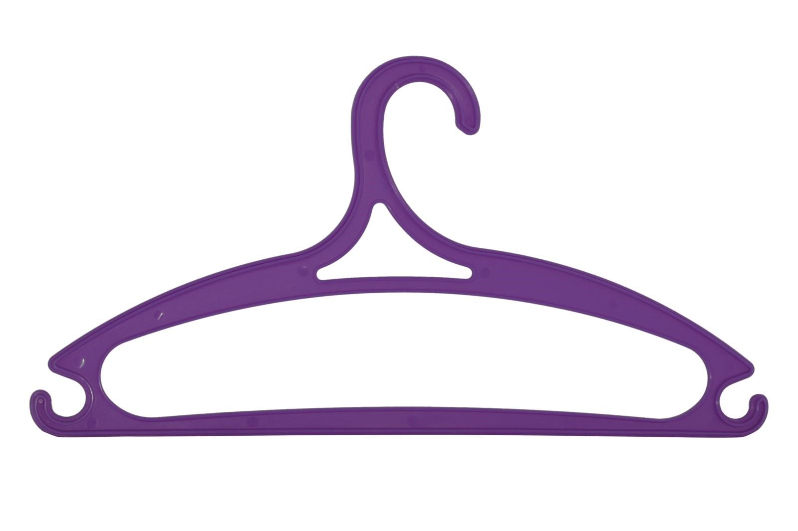 Súprava plastových ramienok 5 ks fialová