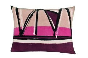 Obliečka na vankúš mikroplyš 70x90 cm DENTON fialová
