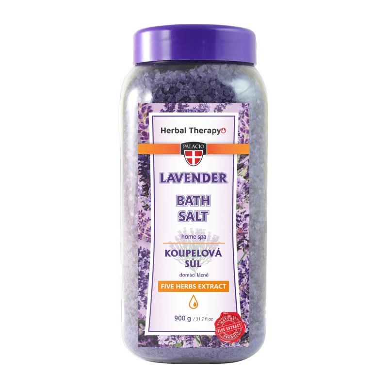 Levanduľová soľ do kúpeľa 900 g