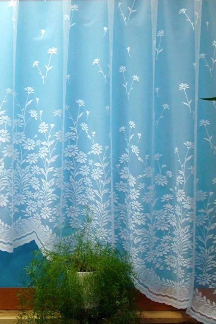 Oblúková záclona PRITA 160x325 cm