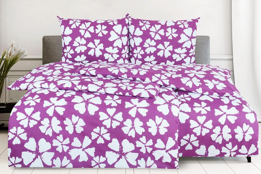 Bavlnené obliečky 4dielne WALIKA fialové