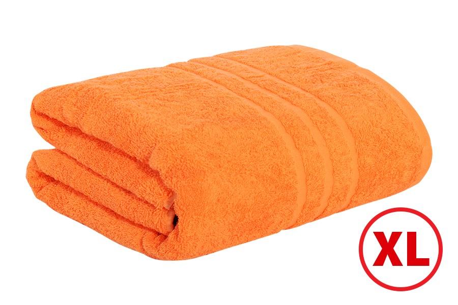 Osuška PORTA 100x180 cm oranžová