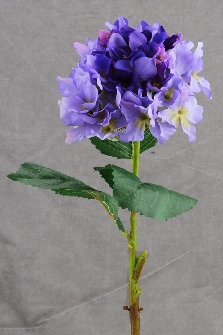 Umelé kvety HORTENZIE modrá