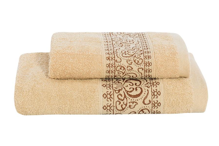 Set uteráka a osušky KEFALA béžový