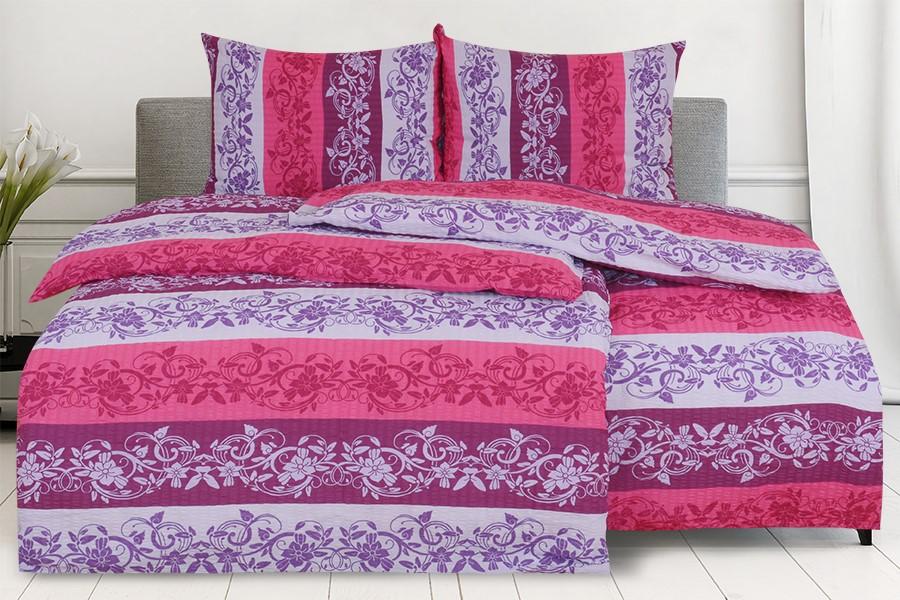 Krepové obliečky LANILA fialové