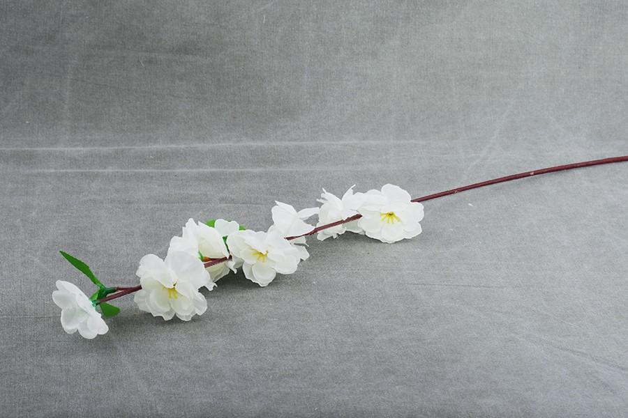 Umelé kvety JABLOŇ malá biela