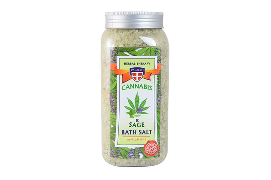 Konopná soľ do kúpeľa so šalviou 900 g