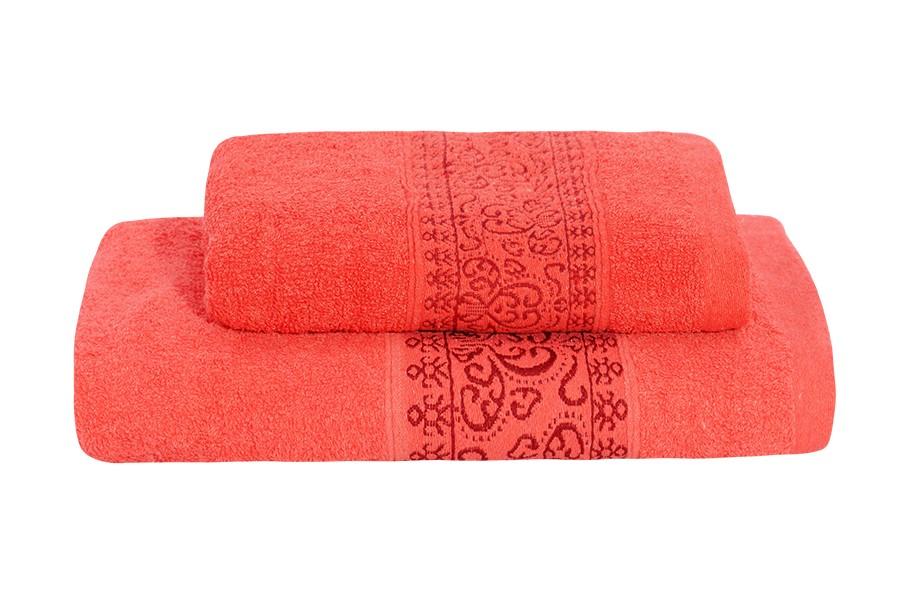 Set uteráka a osušky KEFALA červený