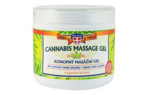Konopný masážny gél 600 ml