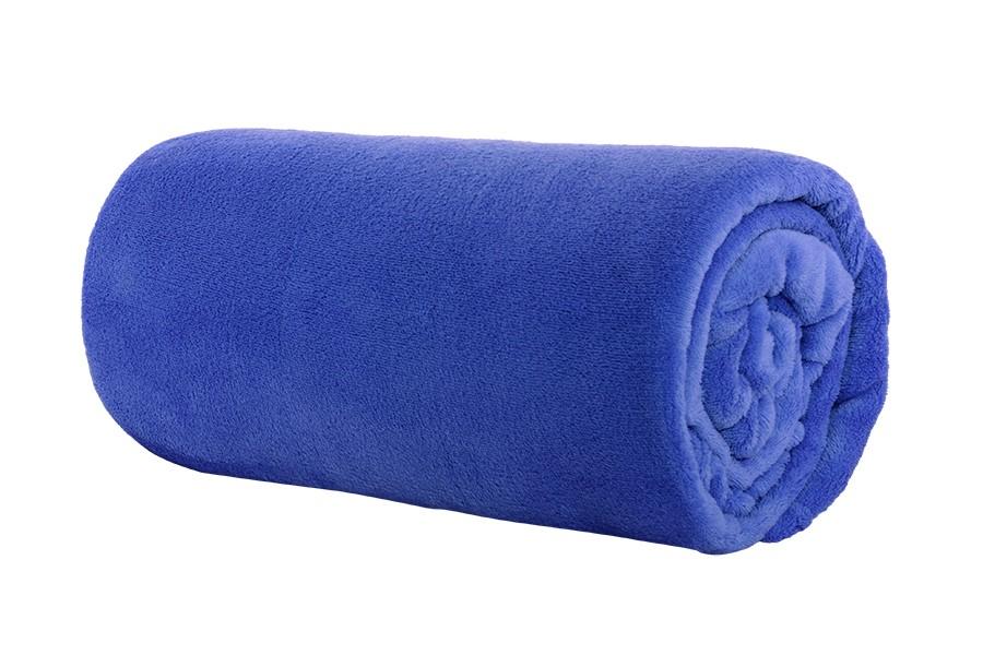 Deka mikro 200x220 cm LUNA modrá