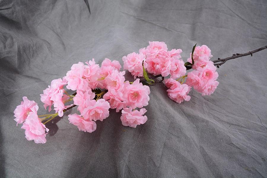 Umelé kvety JABLOŇ veľká svetlo ružová