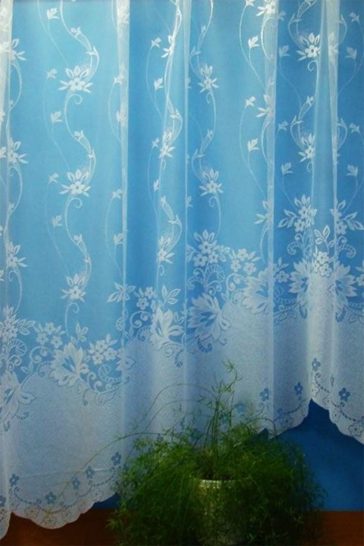 Oblúková záclona ENIKA 160x325 cm