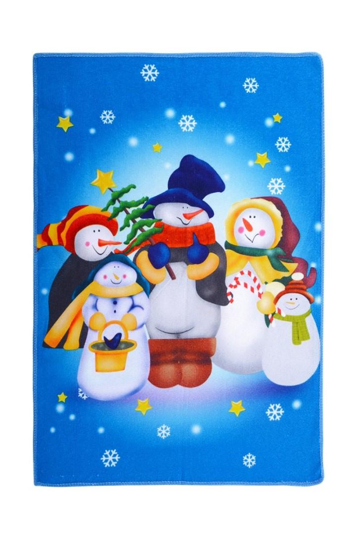 Vianočný uterák SNEHULIACI