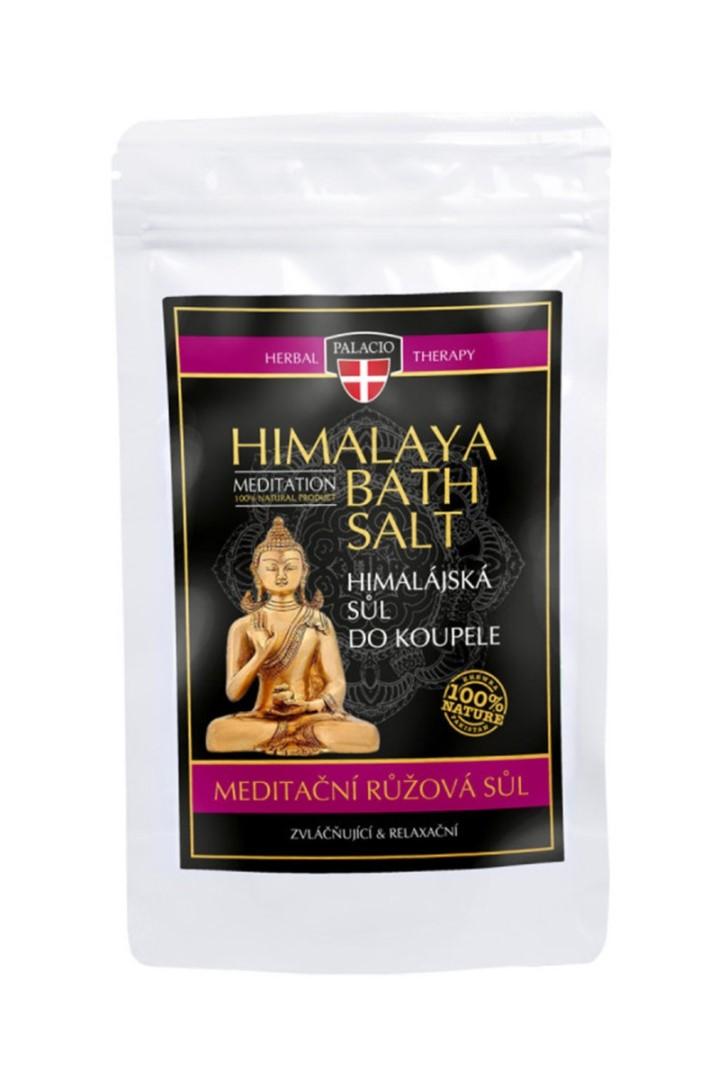 Himalájska soľ do kúpeľa ružová 200g
