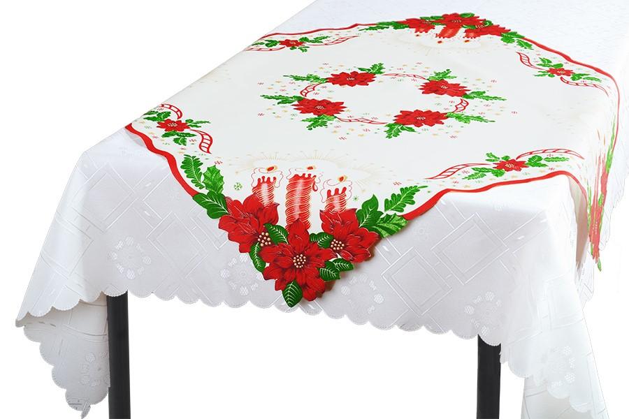 Vianočný obrus SVIECE 85x85 cm
