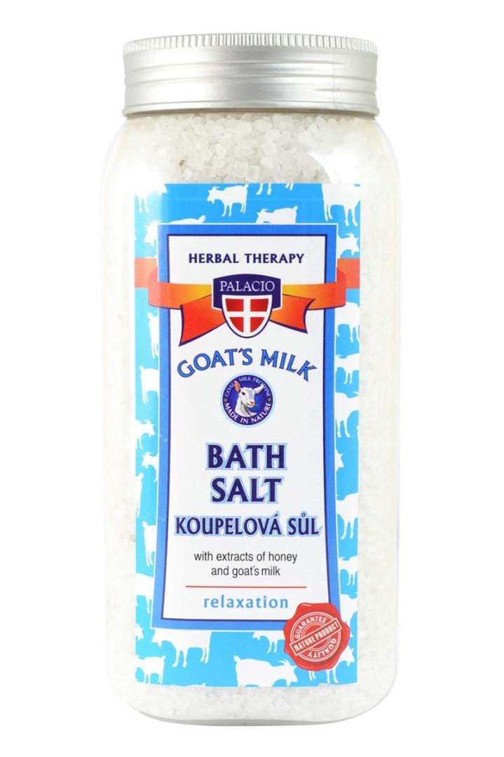Kozie mlieko soľ do kúpeľa 900 g