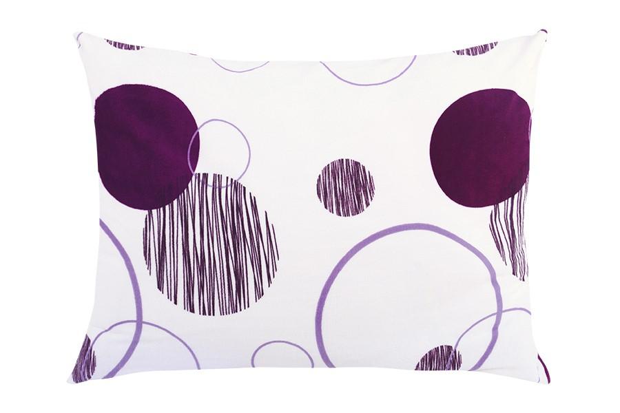 Obliečka na vankúš mikroplyš 70x90 cm TERULA fialová