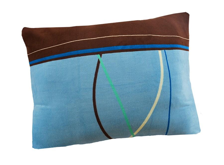 Obliečka na vankúš mikroplyš 70x90 cm TULSA modrá