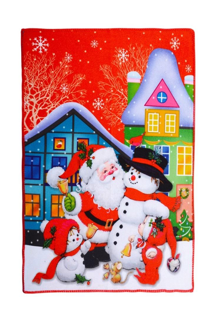 Vianočný uterák SANTA A SNEHULIAK