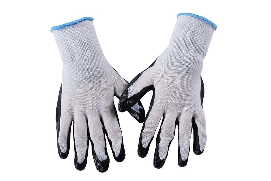 Pracovné rukavice ČIERNE