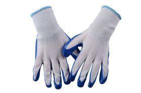 Pracovné rukavice MODRÉ M