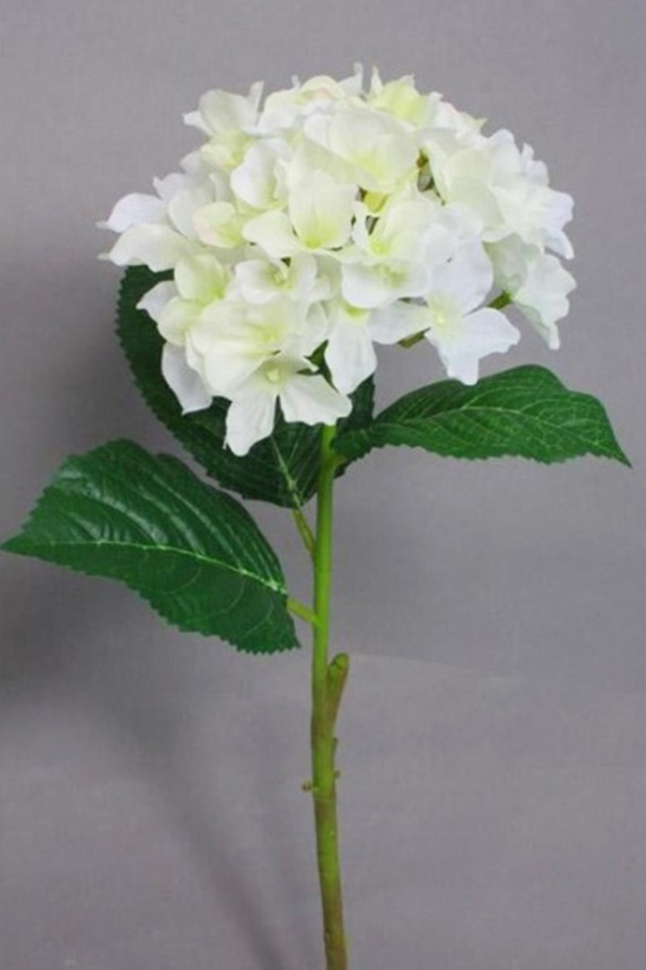 Umelé kvety HORTENZIE biela