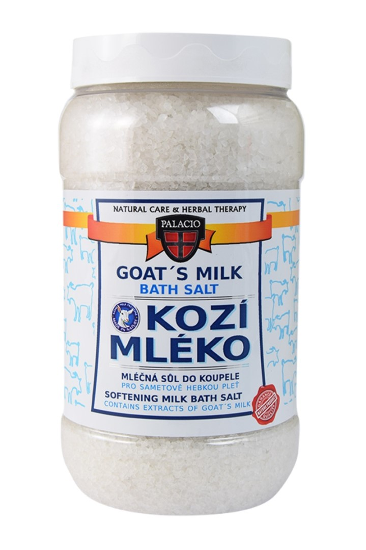 Kozie mlieko soľ do kúpeľa 1200 g