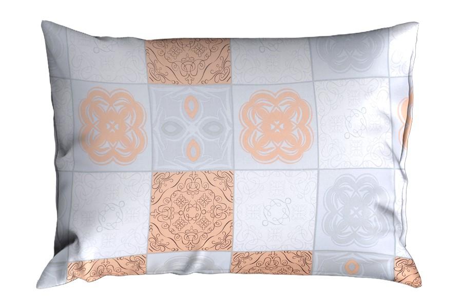 Bavlnená obliečka na vankúš RENFORCÉ 70x90 cm marhuľová