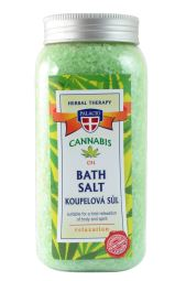 Konopná soľ do kúpeľa 900 g
