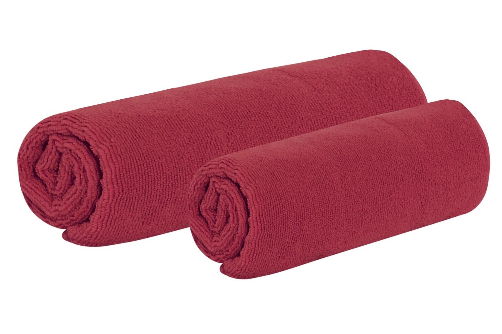 Set uteráka a osušky TOP vínový