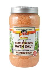 Sedmero bylín soľ do kúpeľa 1200 g