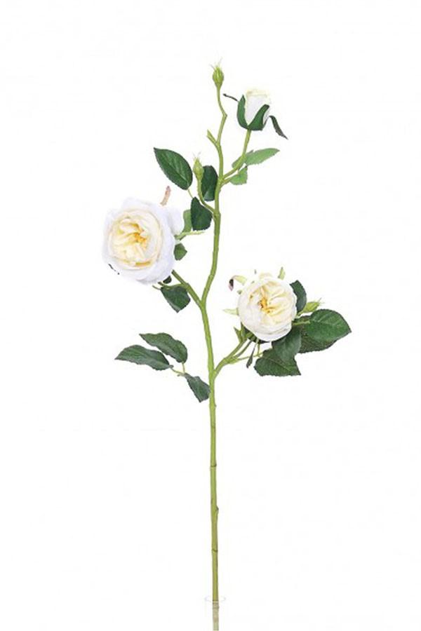 Umelé kvety ANGLICKÁ RUŽE biela