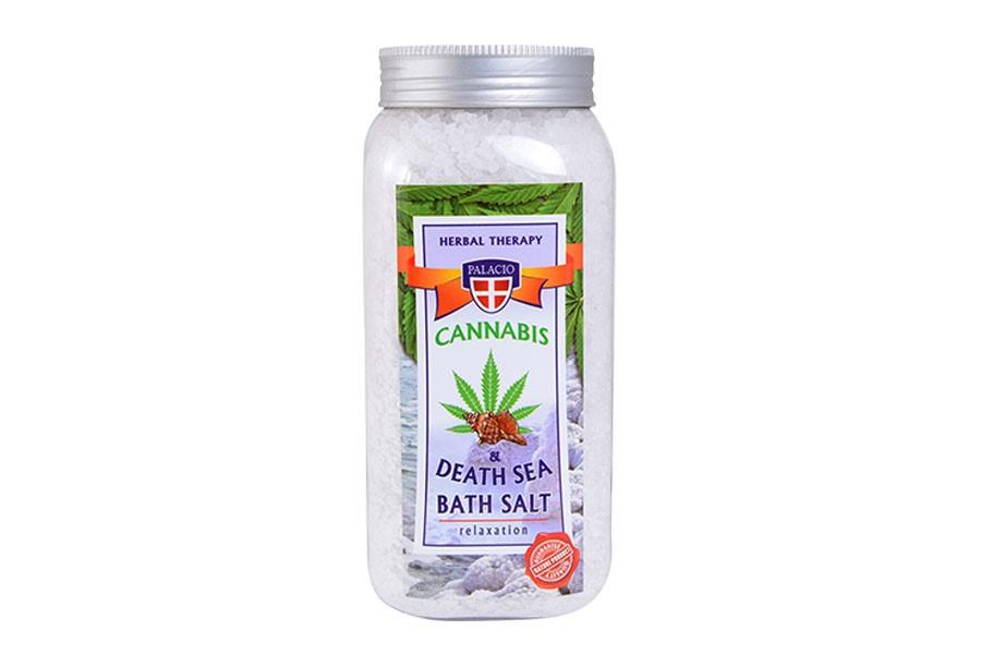 Konopná soľ do kúpeľa Mŕtve more 900 g