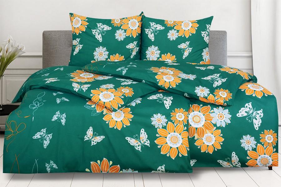 Bavlnené obliečky BASIC 4dielne SIDENA zelené