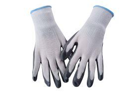 Pracovné rukavice ŠEDÉ L