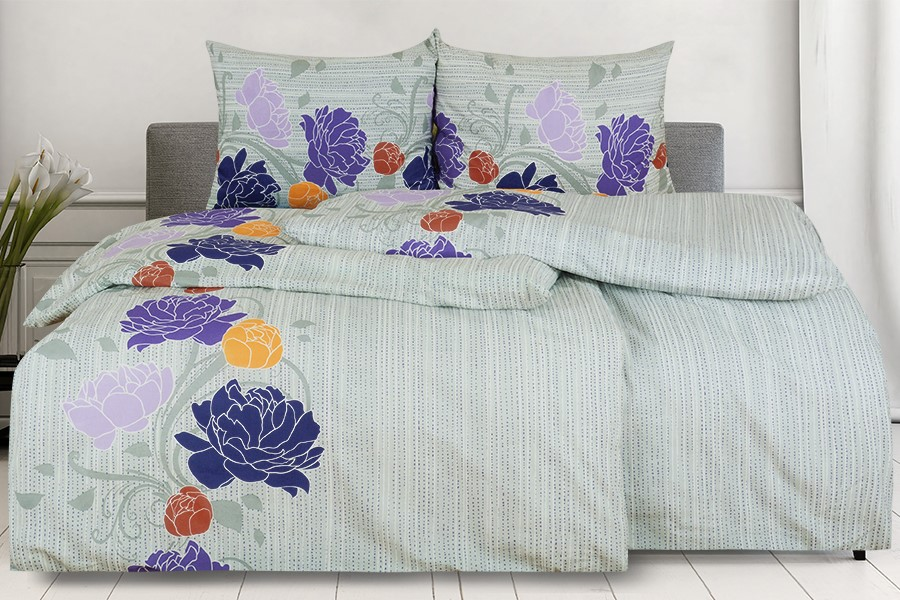Bavlnené obliečky AGLIA fialové