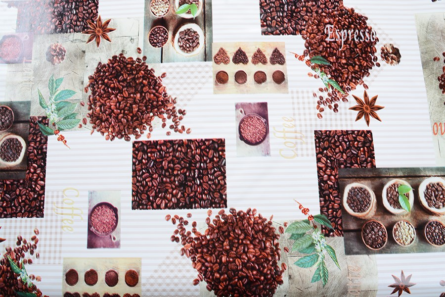 PVC obrus COFFEE 120x140 cm